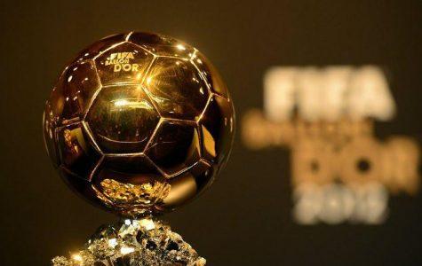 Cristiano Ronaldo awarded Ballon d'Or