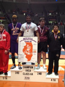 Malcom Watson wrestles his way to the top as state champion