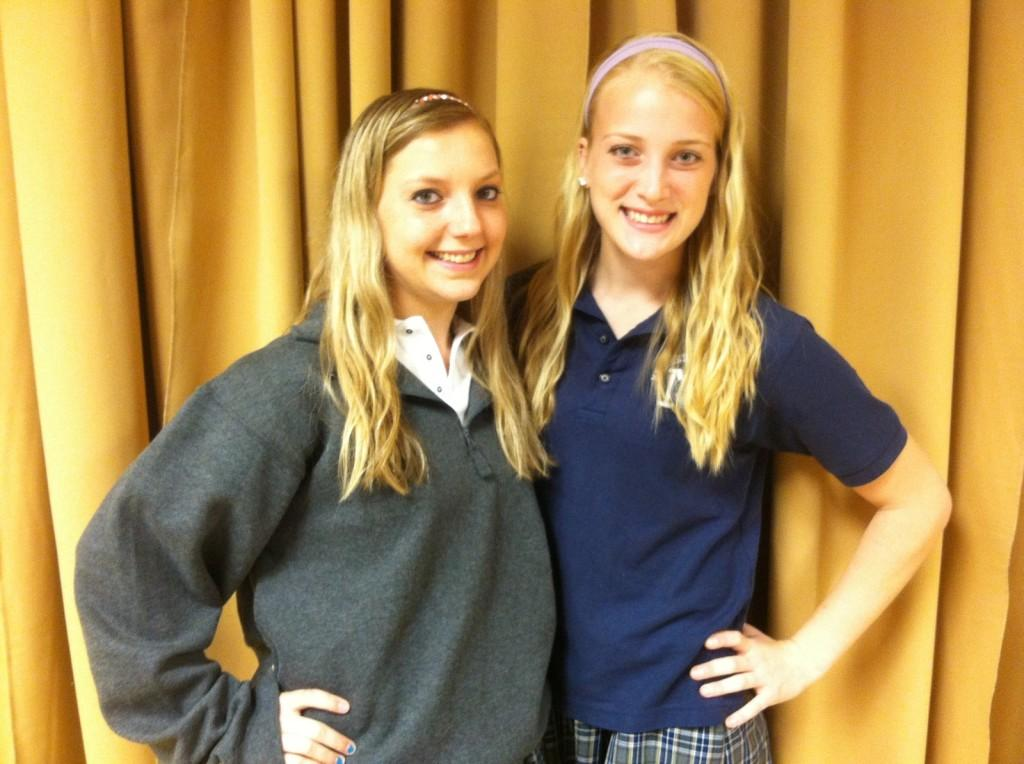 Student Spotlight: Lindsay Zasadzinski and Lauren Wajda's History Fair project takes them to Maryland
