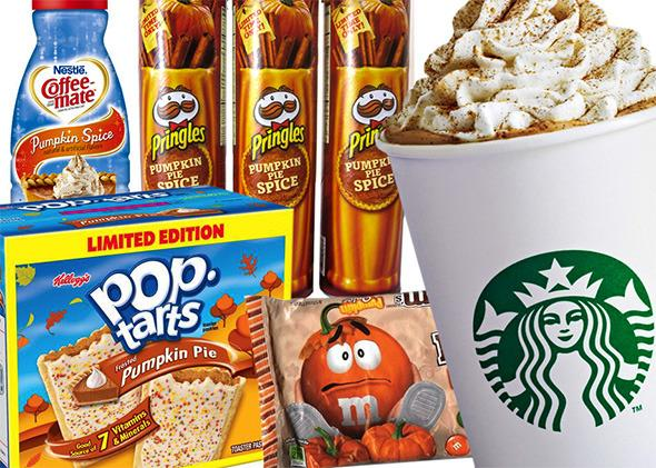 Pumpkin flavor taking over America