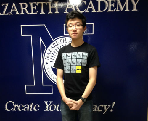 Student Spotlight: Hudson Hu