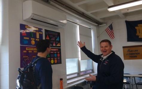 Nazareth classrooms experience range of temperatures