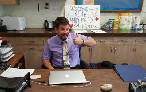 New Teacher Spotlight: Mr. De Leonardis