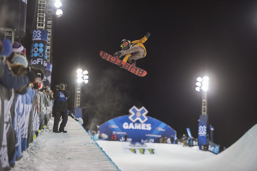 Chloe+Kim+from+USA+on+her+final+run+of+Saturday+when+she+won+gold+in+Women%E2%80%99s+Snowboard+SuperPipe.