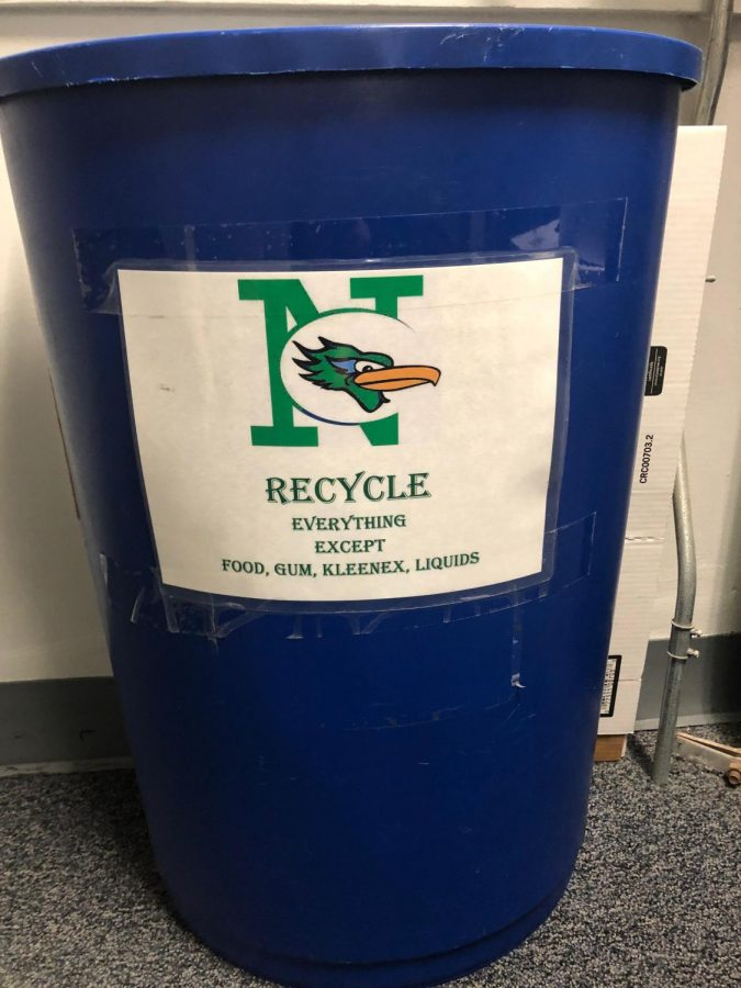 Roadrunners chip in by recycling
