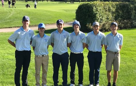 Boys Varsity Golf team heads to sectionals
