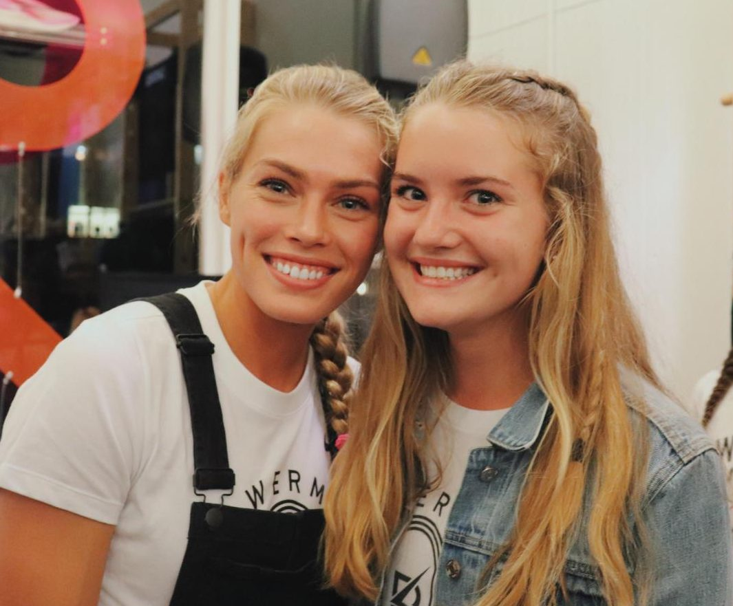 Colleen Quigley and Junior Fiona Roach