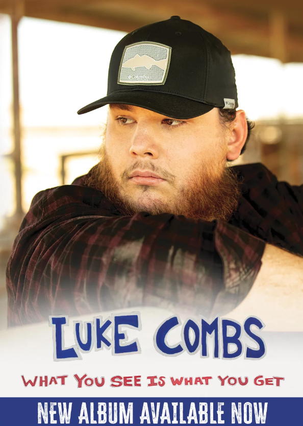 What You See Is What You Get: Luke Combs' new album is released today
