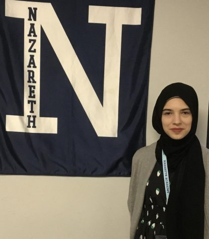 The English department welcomes Sarah Abu-Alsamen