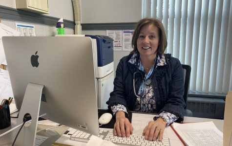 School Nurse Kathy Gross