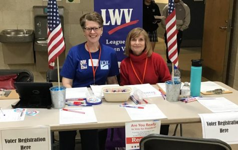 Voter registration at Naz