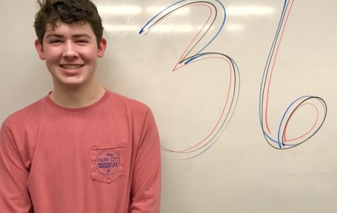 Metzger earns a perfect ACT score.