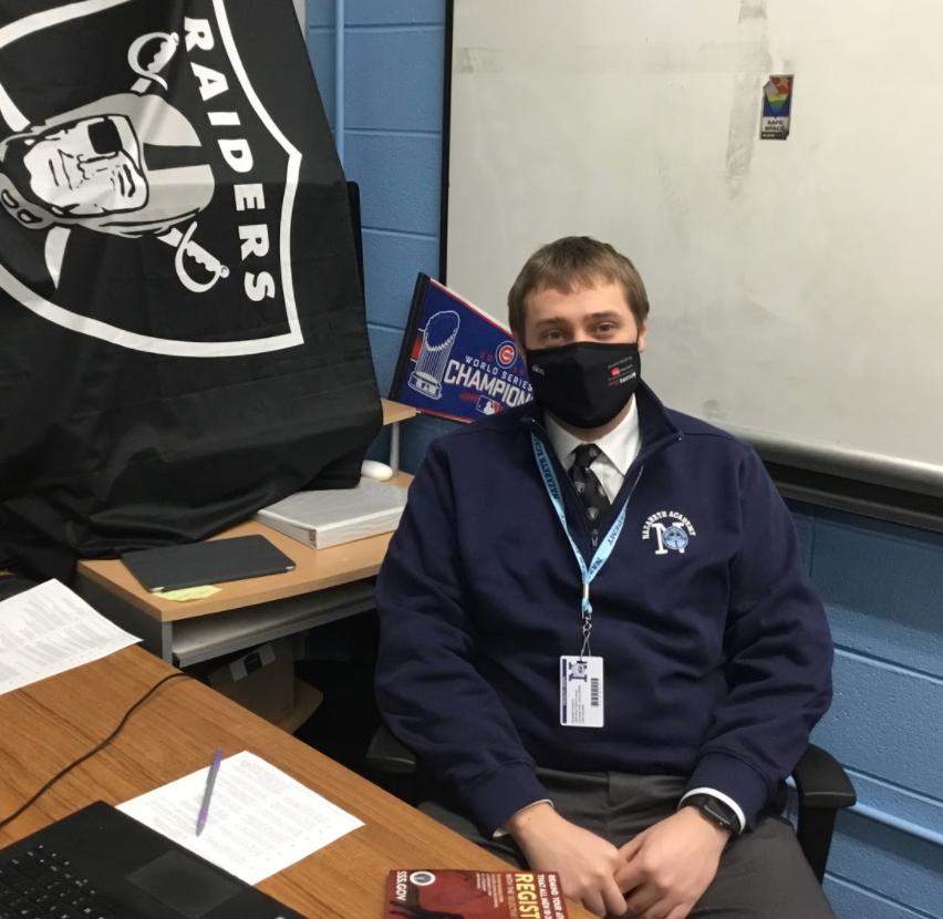 Josh Bielanski joins the math department