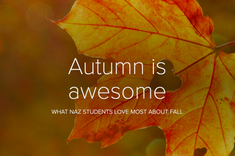 Autumn is awesome at Naz